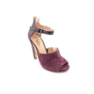 Belle Sigerson Morrison Women's 'Marilyn' Purple Suede Dress Shoes