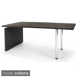 OFM Profile Series Black Top Central Table