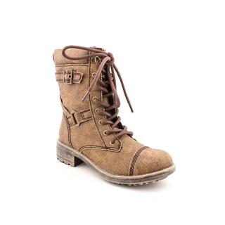 Rocket Dog Women's 'Thunder' Brown Canvas Boots