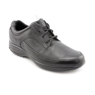 Rockport Men's 'City Routes CR MG' Black Leather Casual Shoes