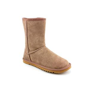 Ukala Women's 'Bondi Low' Regular Khaki Suede Boots