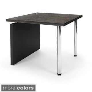 OFM Profile Series 26-inch Black Top Central Table