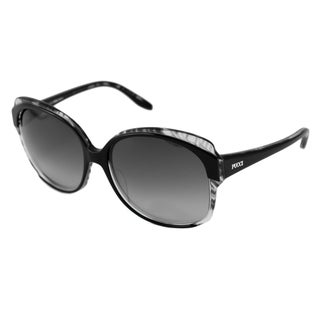 Emilio Pucci Women's EP669S Black Rectangular Sunglasses