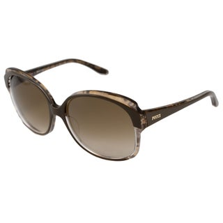 Emilio Pucci Women's EP669S Brown Rectangular Sunglasses