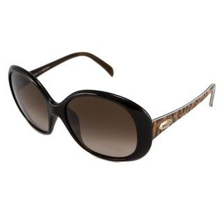 Emilio Pucci Women's EP695S Brown Rectangular Sunglasses