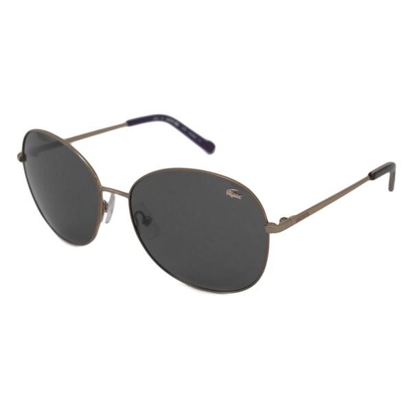 Lacoste Women's L130SP Polarized/ Rectangular Sunglasses