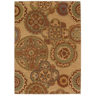 Karastan English Manor Chesterfield Beige Rug (8' x 10'5)