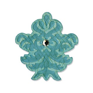 Sizzix Embosslits Die Decorative Finial by Scrappy Cat