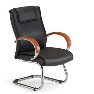 OFM Leather Guest Office Chair