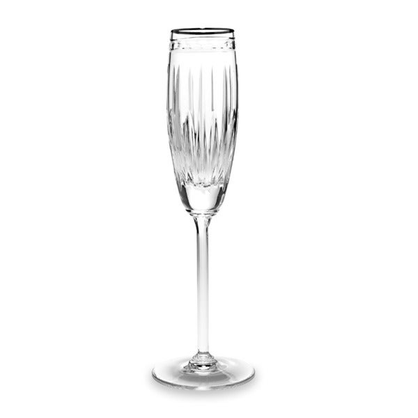 Lenox Vintage Jewel Platinum Signature Flute Glass