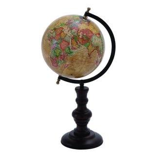 Metal Globe Intricate Detailing