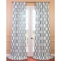 Tide Sands Printed Cotton Curtain Panel