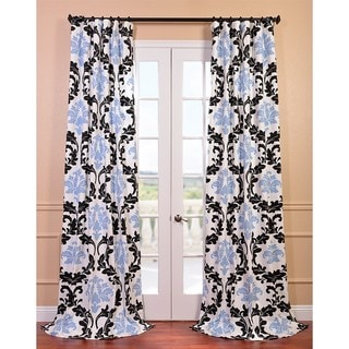 Deuville Printed Cotton Curtain Panel