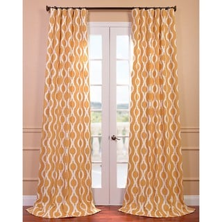 Medina Printed Cotton Curtain Panel