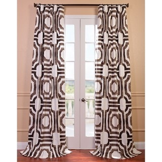 Mecca Printed Cotton Curtain Panel