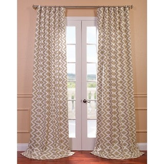 Palu Printed Cotton Curtain Panel