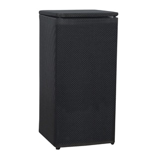 Lamont Black 1530 Home Basketweave Apartment Hamper
