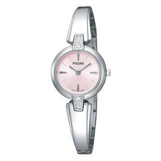 Pulsar Women's 'PTA463' Silvertone Stainless Steel Watch