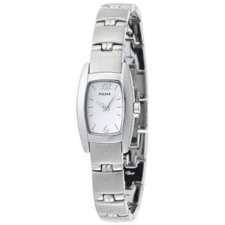Pulsar Women's 'PJ5097' Chrome Stainless Steel Watch