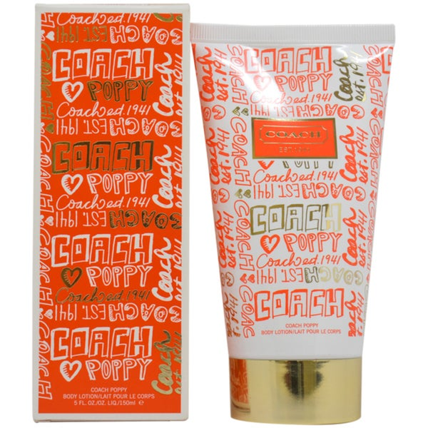Coach Poppy Women's 5-ounce Body Lotion