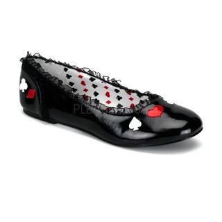 Funtasma Women's 'Alice-12' Black Alice in Wonderland Mary Jane Flats