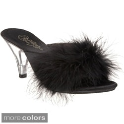 Pleaser Women's 'ROMANCE-301F' Marabou Shoes