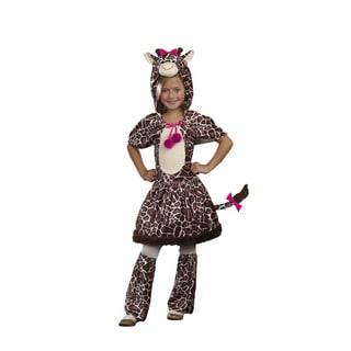 Dream Girl Girls Gigi Giraffe Costume