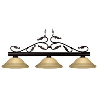 Bourbon 3-light Bronze Chandelier