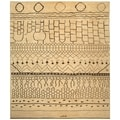 Safavieh Hand-knotted Aspen Ivory/ Brown Wool Rug (8' x 10')