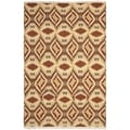 Safavieh Hand-knotted David Easton Paprika Wool Rug (9' x 12')