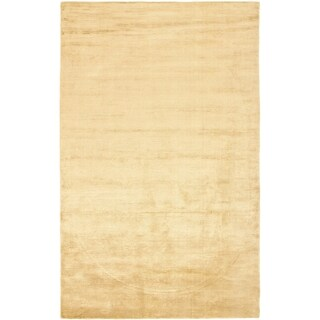 Safavieh Loom-knotted Mirage Gold Viscose Rug (8' x 10')