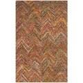 Safavieh Handmade Nantucket Multi Cotton Rug (6' x 9')