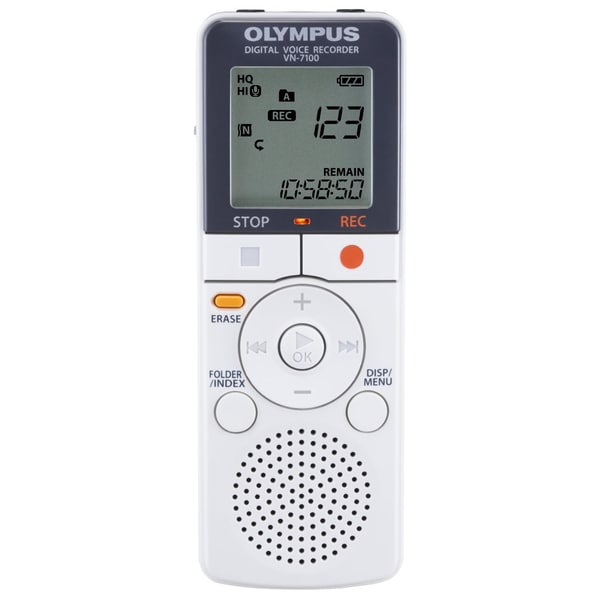 Olympus VN-7100 Digital Voice Recorder (Refurbished)