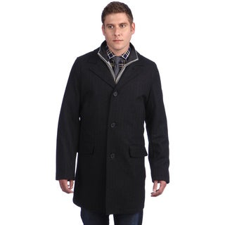 Tommy Hilfiger Men's Wool Blend Peacoat