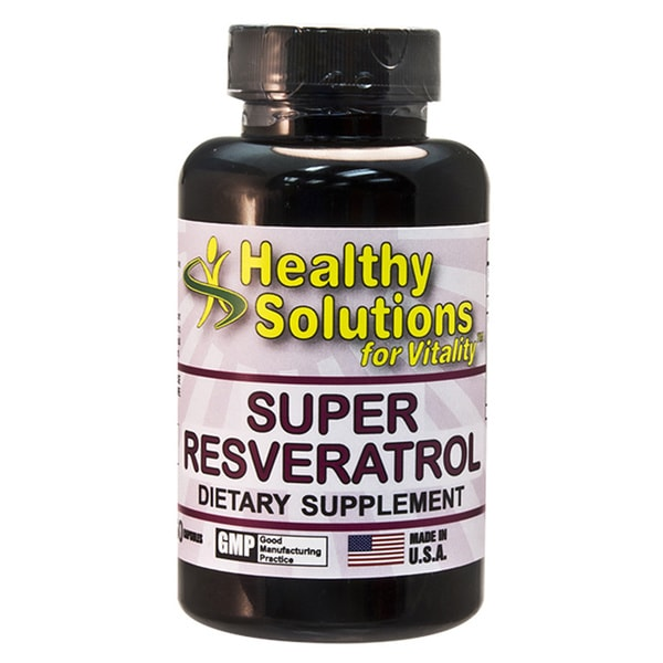 Healthy Solutions Super Resveratrol