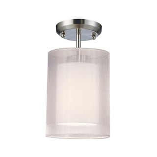 Nikko 1-light Semi-flush Mount Fixture