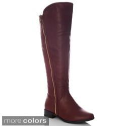 NY VIP Women's Inside Zip Over-the-Knee Boots
