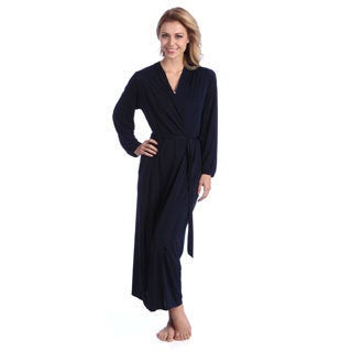 Jones New York Women's Microfiber Full-length Robe