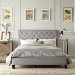Sophie Grey Queen Platform Bed