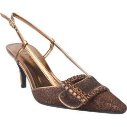 Women's J. Renee Electra Bronze Metallic Fabric