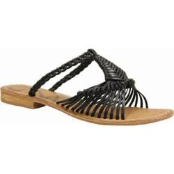 Women's J. Renee Tao Black Nappa
