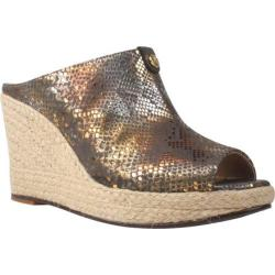 Women's J. Renee Vachel Brown/Metallic Leather