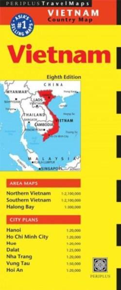 Periplus Travel Maps Vietnam (Sheet map, folded)