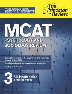 The Princeton Review MCAT Psychology and Sociology Review: New for MCAT 2015 (Paperback)