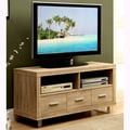 Natural Reclaimed Look 48-inch TV Console with Drawers