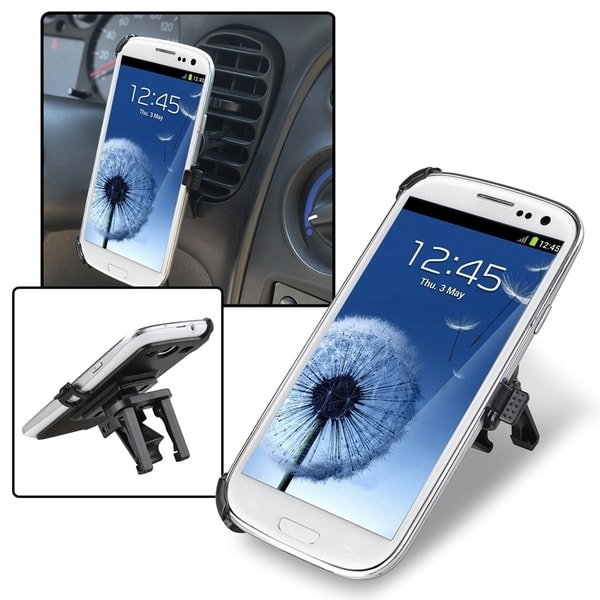 INSTEN Car Air Vent Holder Mount/ Plate for Samsung Galaxy S3 i9300