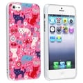 BasAcc Funny Cats UV Protector Case for Apple iPhone 5