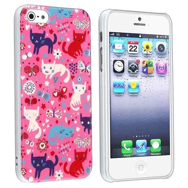 BasAcc Funny Cats UV Protector Case for Apple® iPhone 5