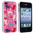 BasAcc Funny Cats UV Protector Case for Apple iPhone 4/ 4S