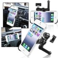 BasAcc Swivel Car Air Vent Holder Mount/ Plate for Apple iPhone 5
